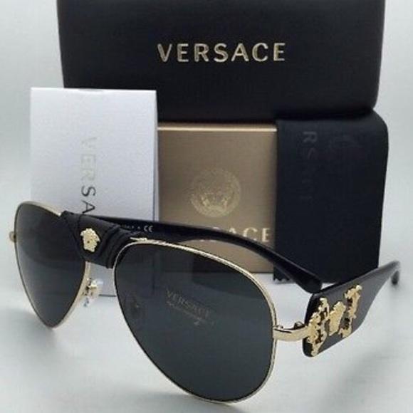 3af1baca5ac9 Versace Accessories | Nwt Authentic Sunglasses Ve 2150q | Poshmark